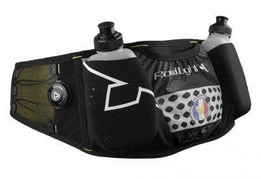 ceinture d hydratation raidlight lazerdry evo 2 flasks 200ml noir jaune