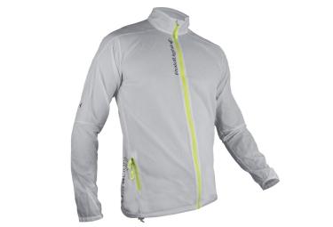veste coupe vent raidlight ultralight blanc jaune