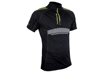 maillot manches courtes raidlight performer xp noir