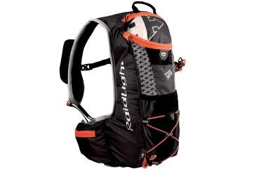 sac a dos raidlight trail xp evo 2 4 noir orange poche a eau 1 5l