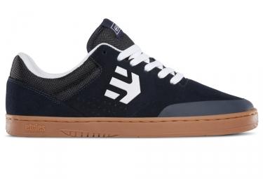 paire de chaussures etnies marana ryan sheckler bleu fonce marron
