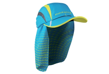 casquette saharienne raidlight bleu