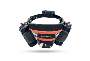 ceinture d hydratation raidlight easy go noir orange