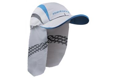 casquette saharienne raidlight blanc bleu