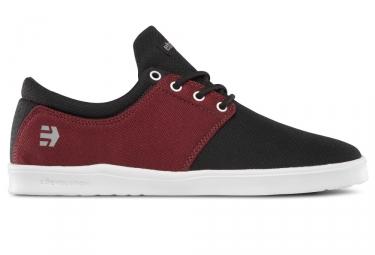 paire de chaussures etnies barrage sc noir rouge