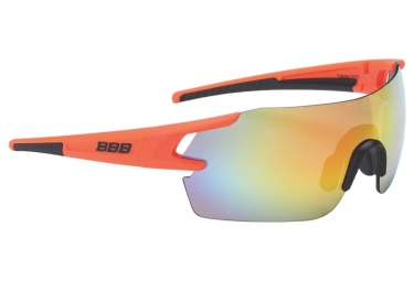 paire de lunettes bbb fullview orange
