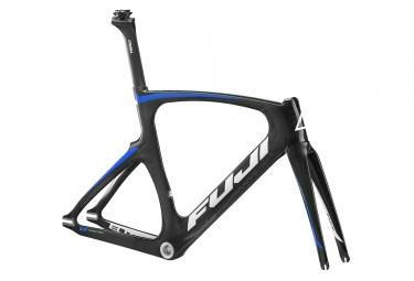 kit cadre piste carbone fuji track elite noir bleu