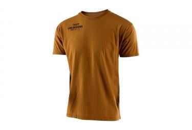t shirt troy lee designs cargo marron