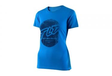 t shirt femme troy lee designs stomp bleu