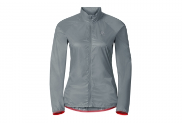 veste coupe vent deperlant femme odlo 2017 lttl gris