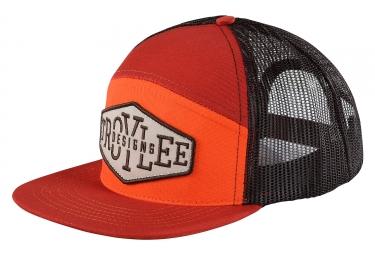 casquette troy lee designs breakout rouge noir