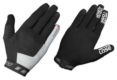paire de gants longs gripgrab vertical noir gris