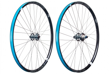 american classic paire de roues wide lightning 29 boost 15x110 12x148 mm corps sram