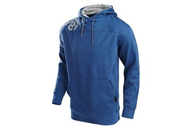 sweat a capuche troy lee designs freestyle bleu