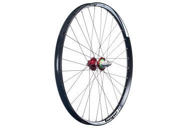 roue arriere hope tech 35w pro 4 27 5 9x135 12x142mm corps sram xd rouge