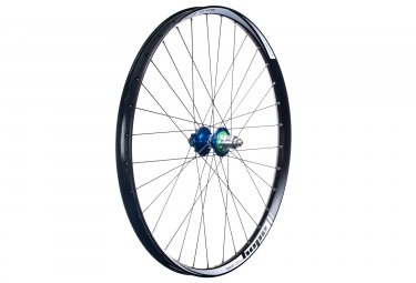roue arriere hope tech 35w pro 4 27 5 9x135 12x142mm corps sram xd bleu