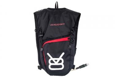 sac a dos v8 equipement ydr 4 4 1 5l noir rouge