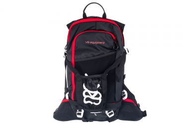 sac a dos v8 equipement frd 11 1 noir rouge