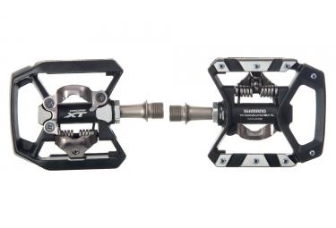 paire de pedales semi automatiques shimano xt pd t8000 noir