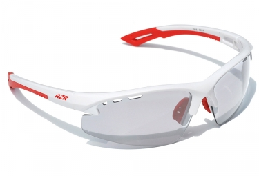 lunettes azr kromic izoard blanc transparent photochromique