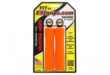 paire de grips esi fit cr orange