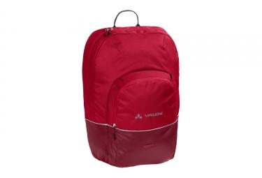 sacoche de porte bagage vaude cycle 22 rouge