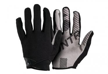 paire de gants longs bontrager rhythm noir