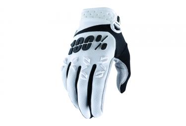 gants long 100 airmatic blanc noir