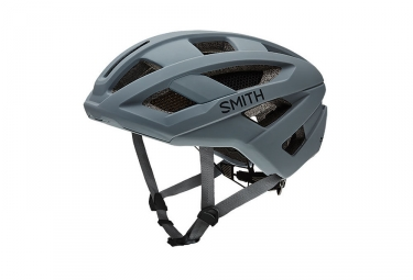 casque smith route gris