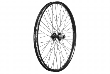 halo roue arriere 26 sas 6 drive spin doctor 9mm qr 48 rayons noir