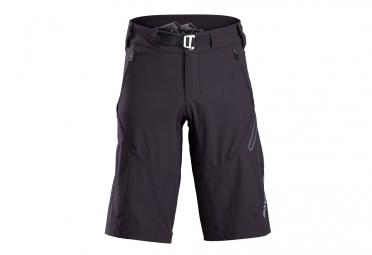 short de sport bontrager lithos noir