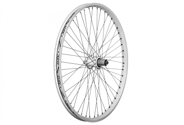 halo roue arriere 26 sas 6 drive spin doctor 9mm qr 48 rayons blanc
