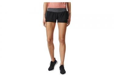 short de sport femme adidas running ultra energy noir