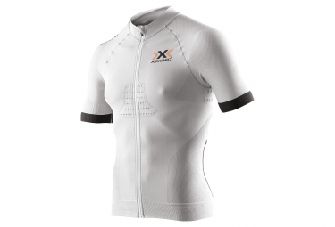 maillot manches courtes x bionic race evo blanc