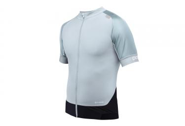 maillot manches courtes poc 2017 resistance pro xc bleu