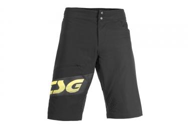 short tsg sp1 noir jaune