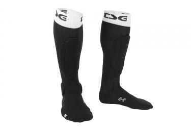 chaussettes de protection tsg riot noir blanc