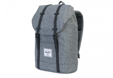 sac a dos herschel retreat backpack 19 5l gris noir