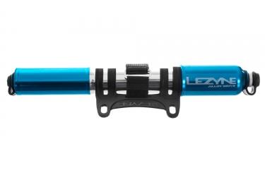 pompe a main lezyne alloy drive medium bleu
