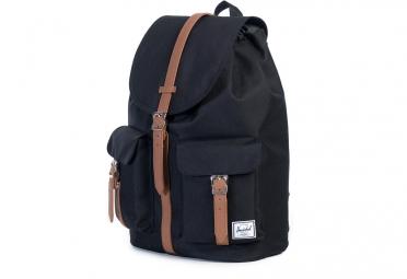 sac a dos herschel dawson 20 5l noir cuir synthetique