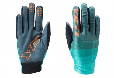 gants longs yeti enduro bleu gris