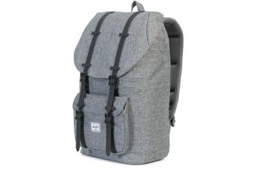 sac a dos herschel little america 25l gris noir