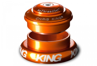 chris king jeu de direction inset 7 semi integre externe conique 1 1 8 1 5 orange