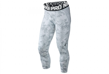 collant 3 4 nike pro hypercool blanc camo homme