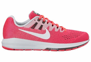 nike air zoom structure 20 rose blanc femme