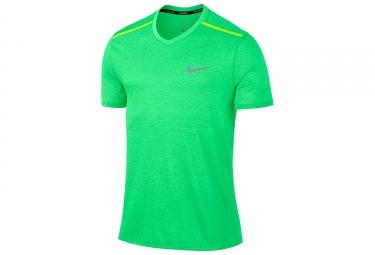 maillot homme nike breathe vert