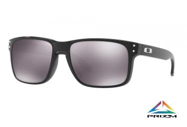 paire de lunettes oakley holbrook polished black prizm black ref oo9102 e1