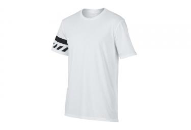 t shirt oakley tri hazard blanc