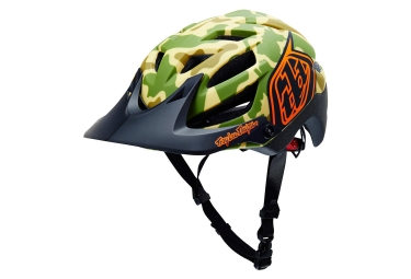 casque vtt troy lee designs a1 camo desert edition limitee