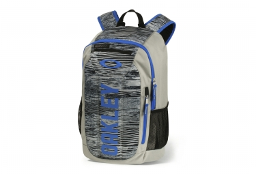 sac a dos oakley enduro 20l print 2 0 gris bleu